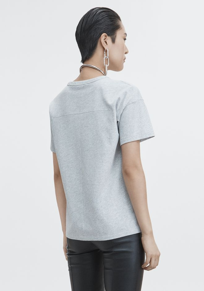 T by ALEXANDER WANG EXCLUSIVE POCKET TEE  TOP Adult 12_n_d
