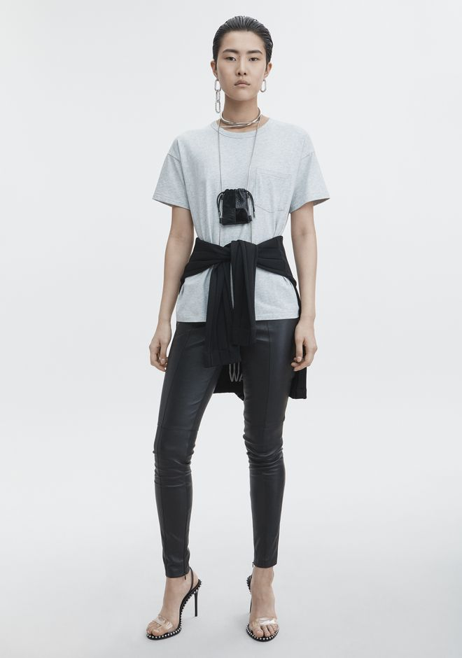 T by ALEXANDER WANG EXCLUSIVE POCKET TEE  TOP Adult 12_n_f