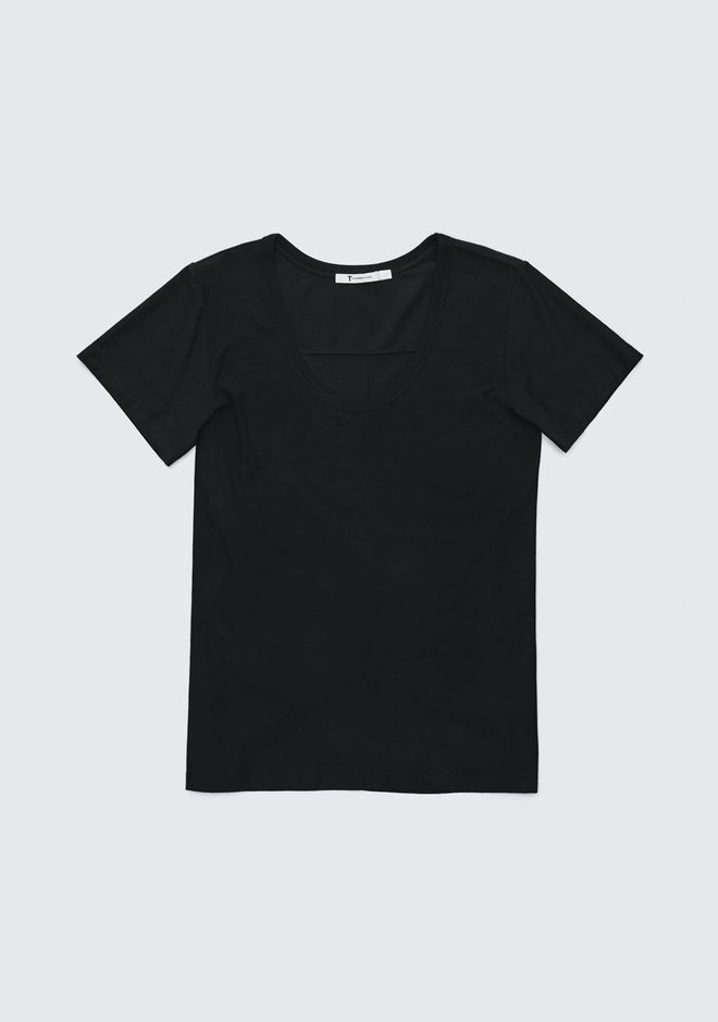T by ALEXANDER WANG EXCLUSIVE JERSEY TEE  HAUTS Adult 12_n_a