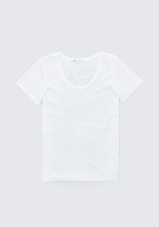 T by ALEXANDER WANG EXCLUSIVE JERSEY TEE  TOP Adult 12_n_a