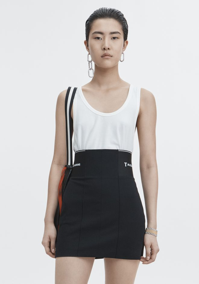 T by ALEXANDER WANG TOPS Women EXCLUSIVE JERSEY TANK