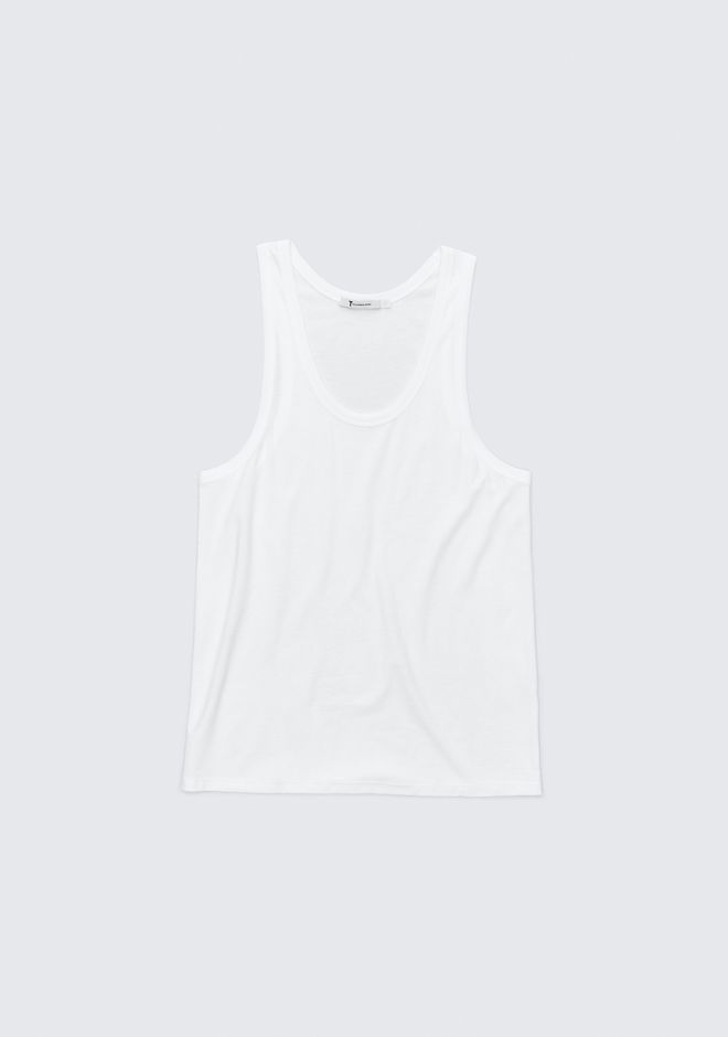 T by ALEXANDER WANG EXCLUSIVE JERSEY TANK TOP Adult 12_n_a