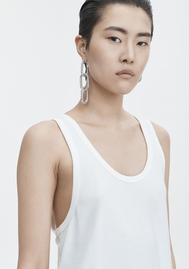 T by ALEXANDER WANG EXCLUSIVE JERSEY TANK TOP Adult 12_n_r