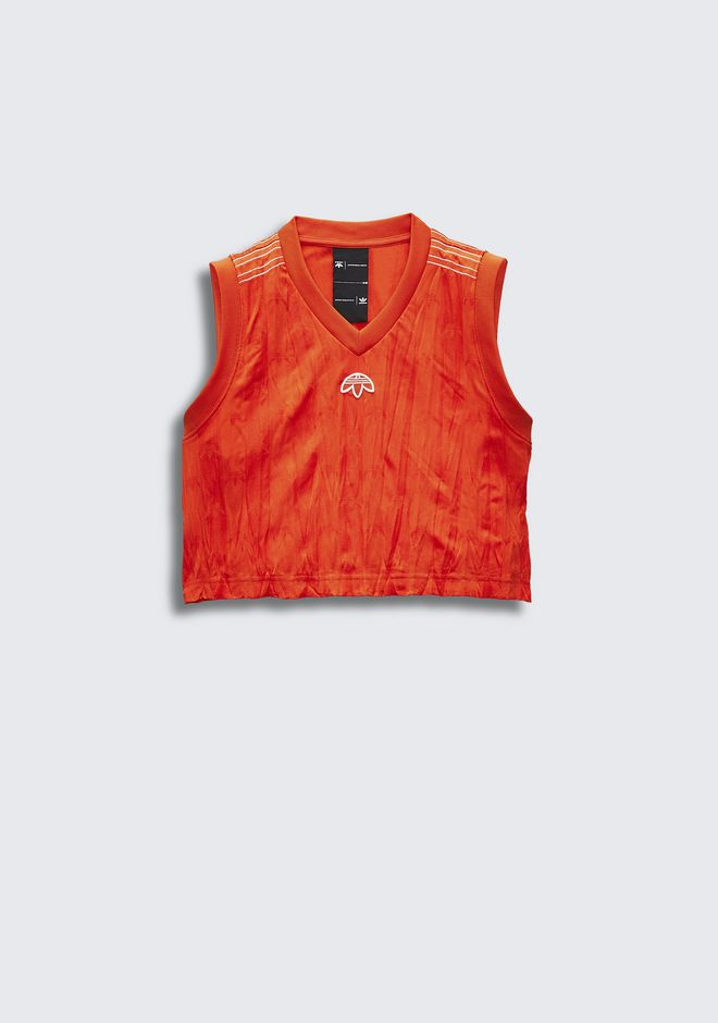 ALEXANDER WANG ADIDAS ORIGINALS BY AW  CROP JERSEY  TOP Adult 12_n_f