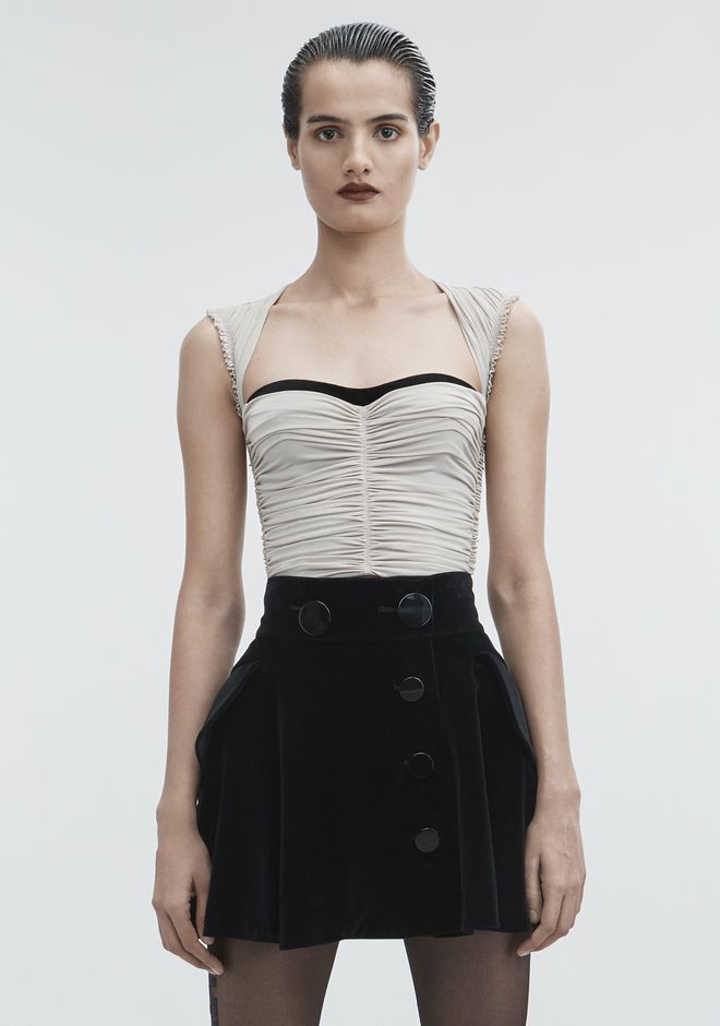 ALEXANDER WANG TOPS Women RUCHED TOP