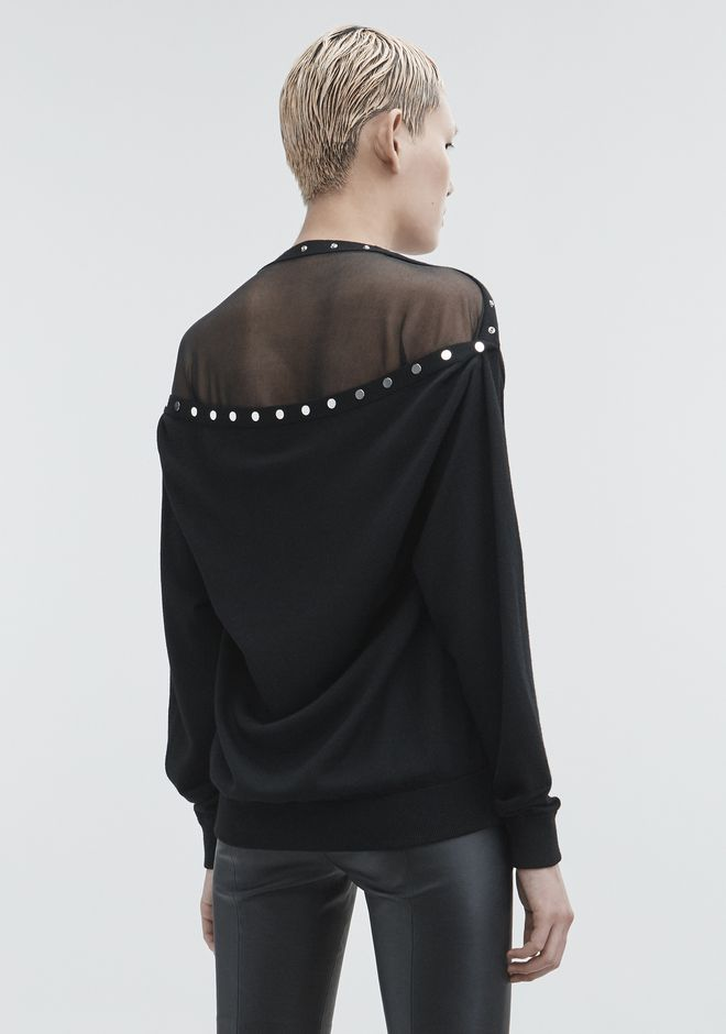 ALEXANDER WANG knitwear-ready-to-wear-woman PEELAWAY PULLOVER
