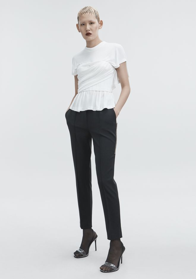 Twisted Corset Tee by Alexander Wang