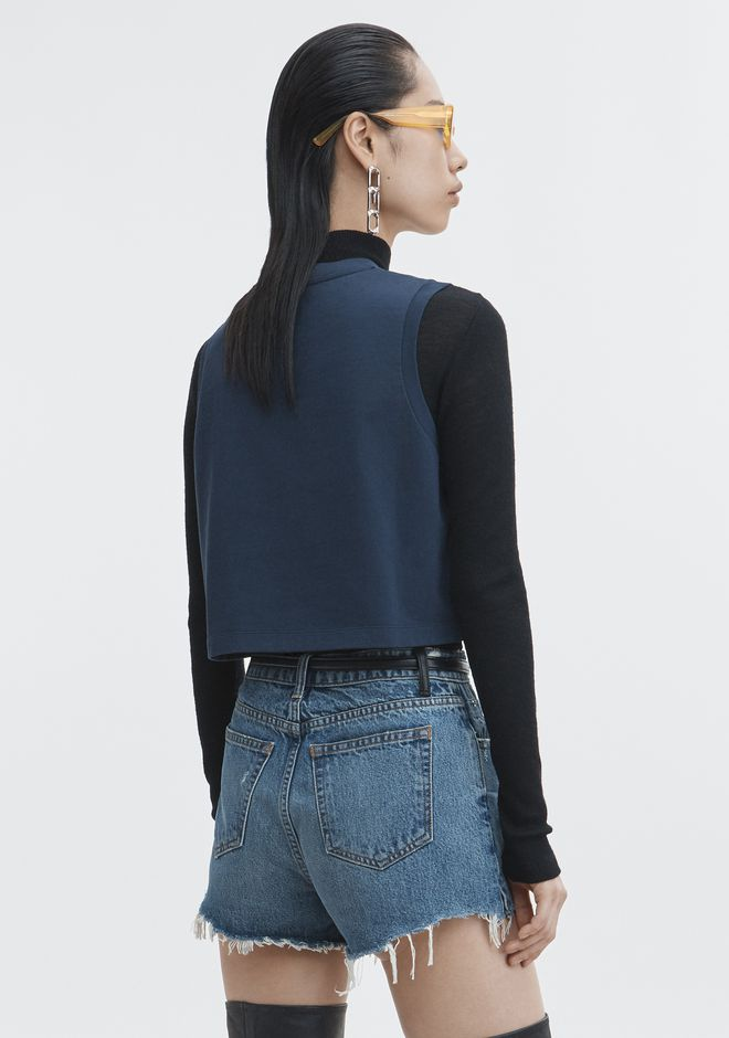 ALEXANDER WANG BARCODE CROPPED TOP TOP Adult 12_n_d
