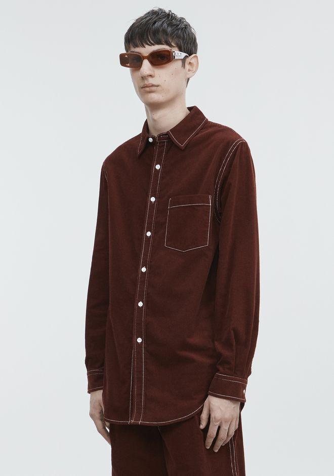 ALEXANDER WANG CORDUROY SHIRT 셔츠 Adult 12_n_a