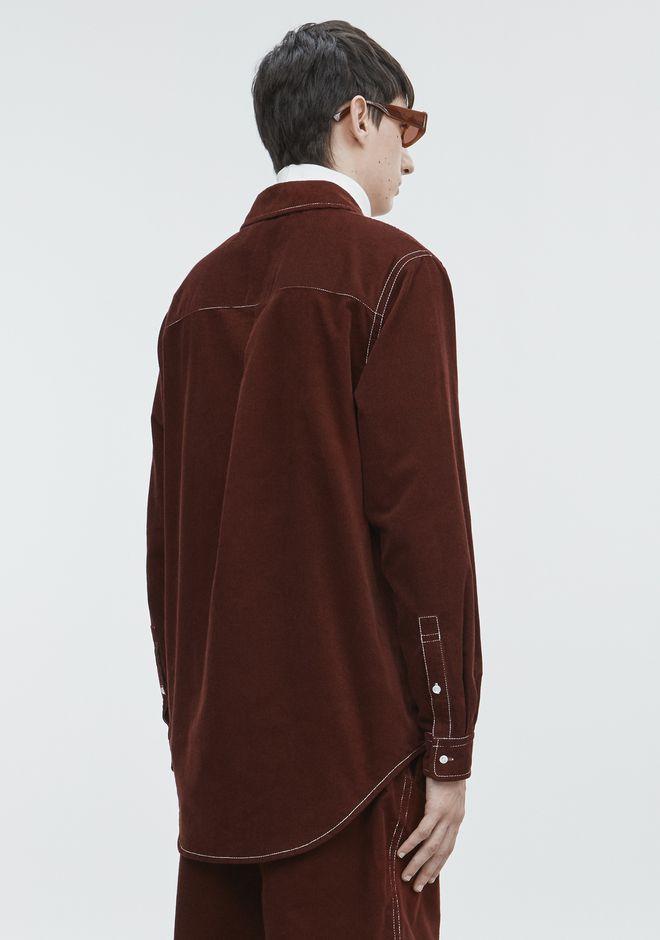 ALEXANDER WANG CORDUROY SHIRT 셔츠 Adult 12_n_d
