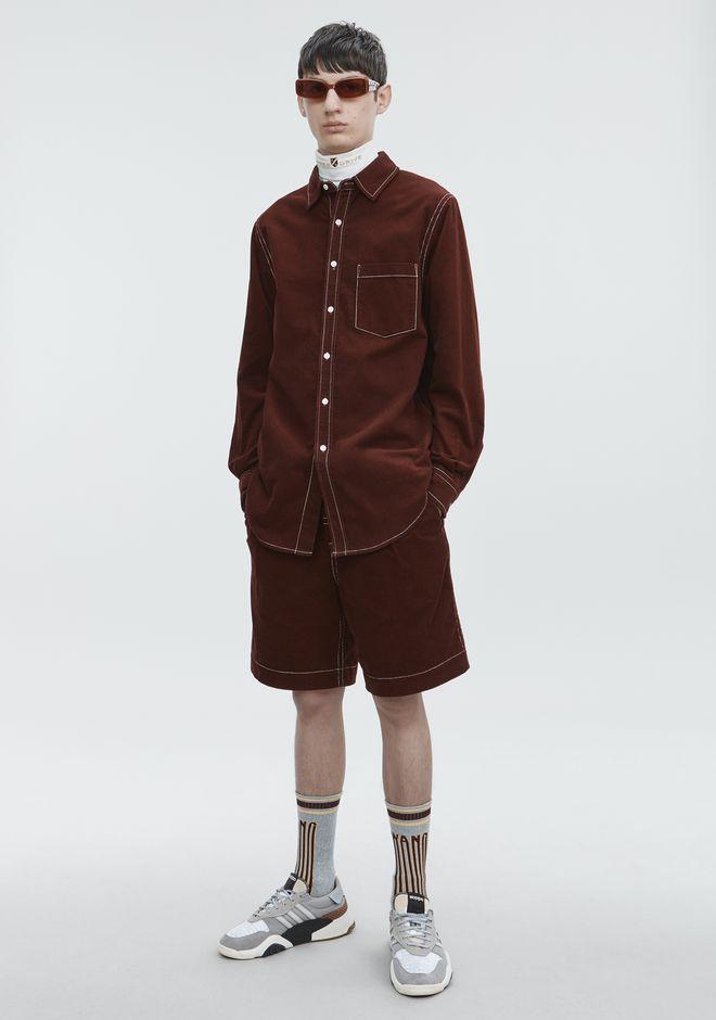 ALEXANDER WANG CORDUROY SHIRT 셔츠 Adult 12_n_f