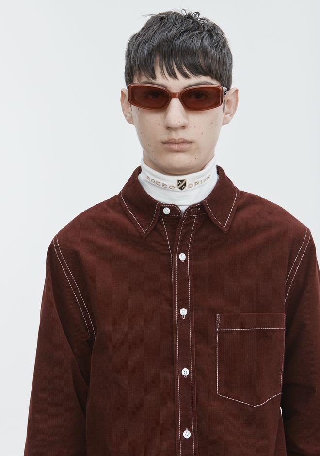 ALEXANDER WANG CORDUROY SHIRT 셔츠 Adult 12_n_r