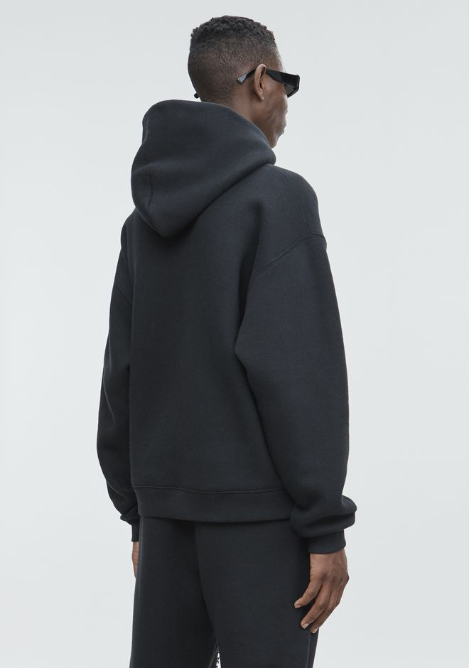 ALEXANDER WANG HOODED SWEATSHIRT WITH CREDIT CARD DECALS トップス Adult 12_n_r