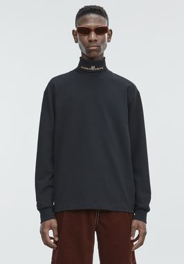 JERSEY LONG SLEEVE TURTLENECK