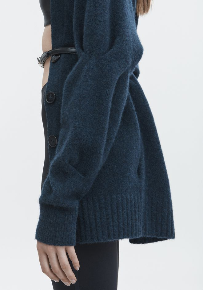 T by ALEXANDER WANG CHUNKY WOOL CARDIGAN HAUTS Adult 12_n_r