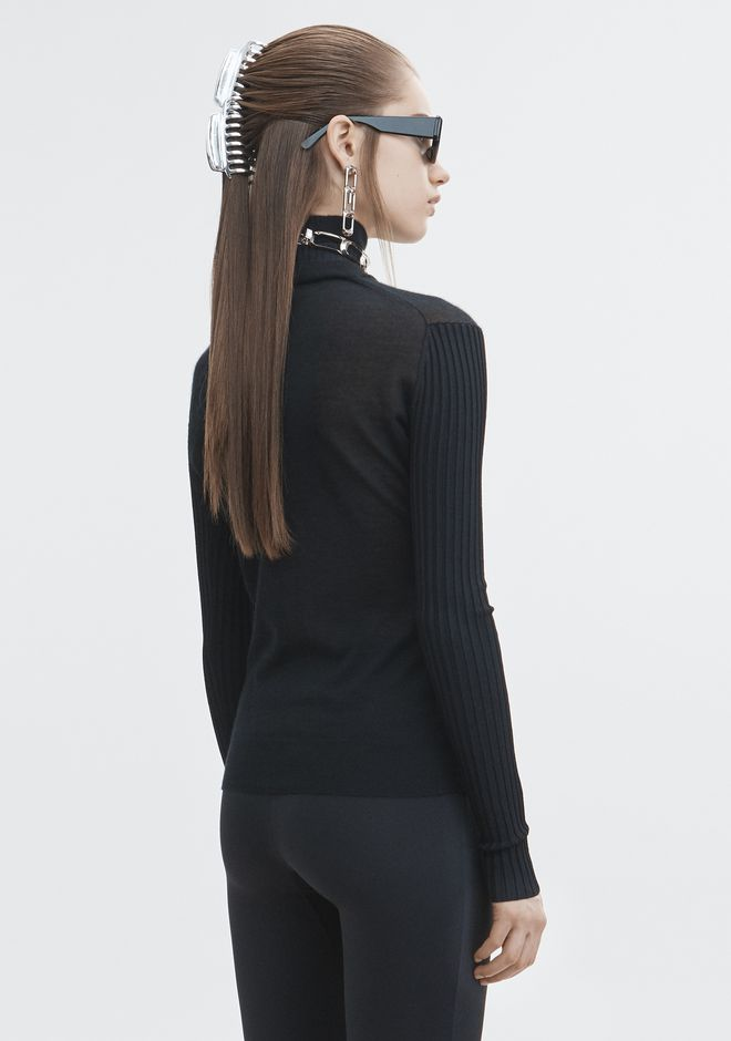 ALEXANDER WANG MULTI NECKLINE TURTLENECK TOP Adult 12_n_d
