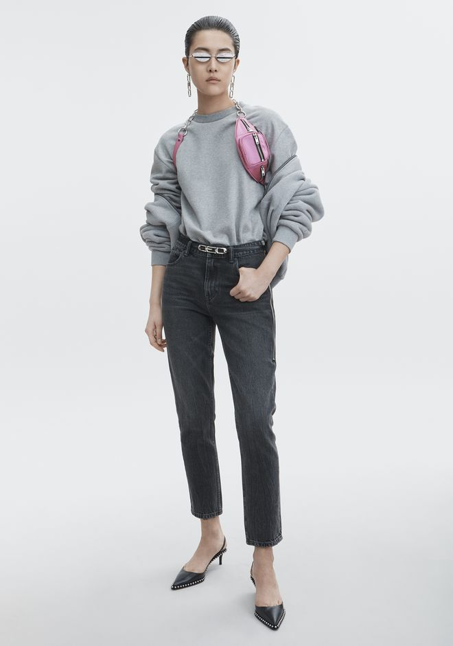 Sweatshirt Bodysuit by Alexander Wang