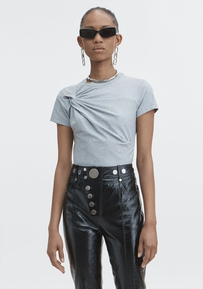 T by ALEXANDER WANG TOPS TWIST TOP
