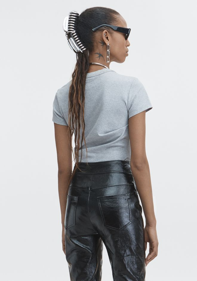 T by ALEXANDER WANG TWIST TOP HAUTS Adult 12_n_d