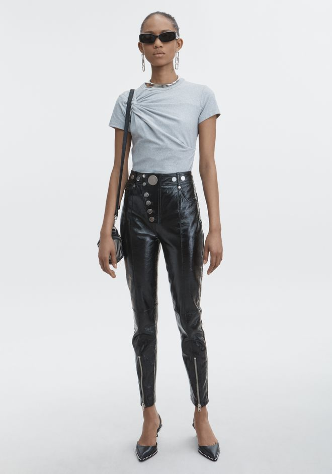 T by ALEXANDER WANG TWIST TOP HAUTS Adult 12_n_f