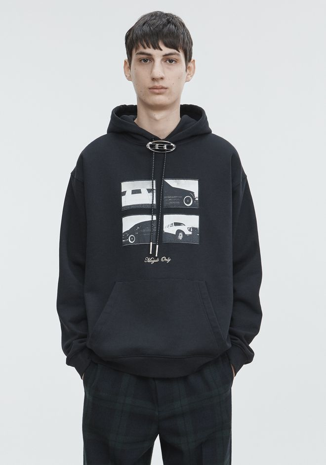 ALEXANDER WANG ready-to-wear-sale CEO BOLO SWEATSIRT