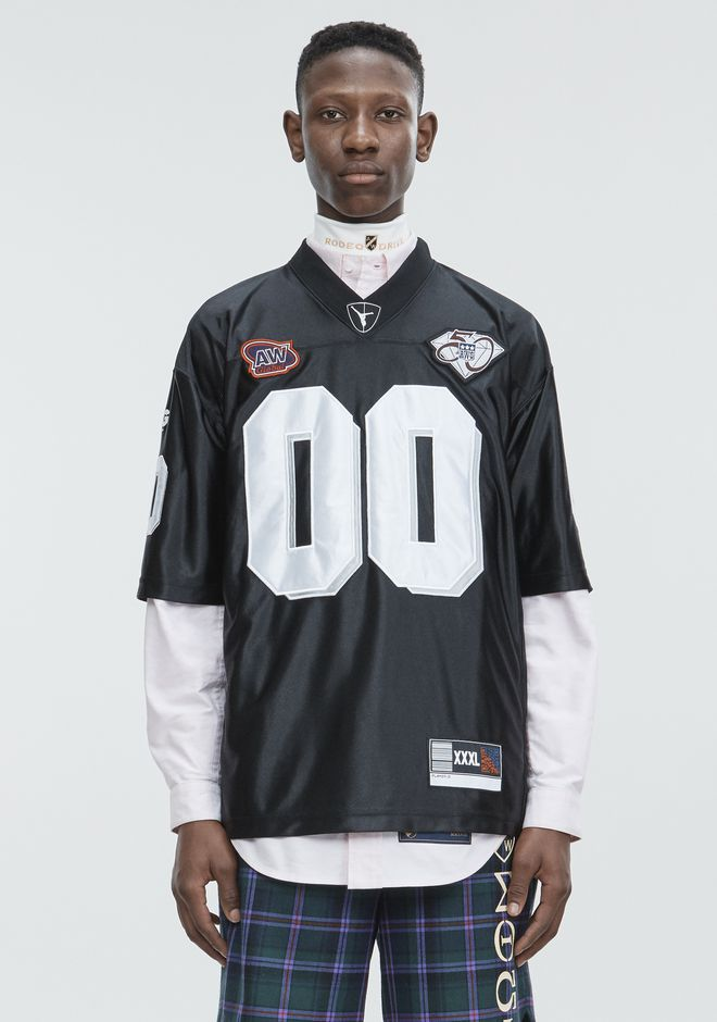 ALEXANDER WANG Short sleeve t-shirts FOOTBALL JERSEY