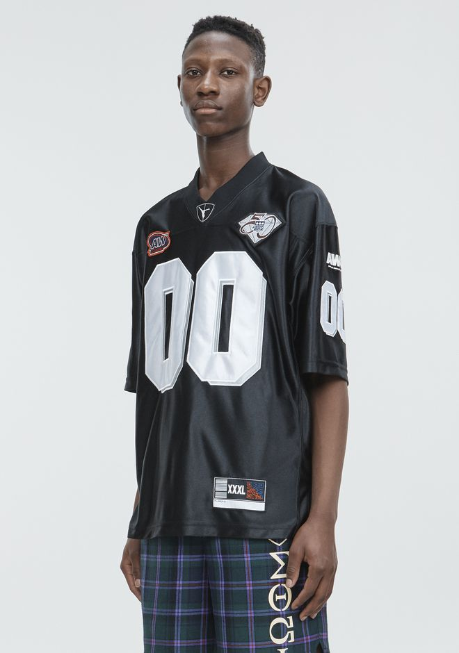 ALEXANDER WANG FOOTBALL JERSEY Short sleeve t-shirt Adult 12_n_a