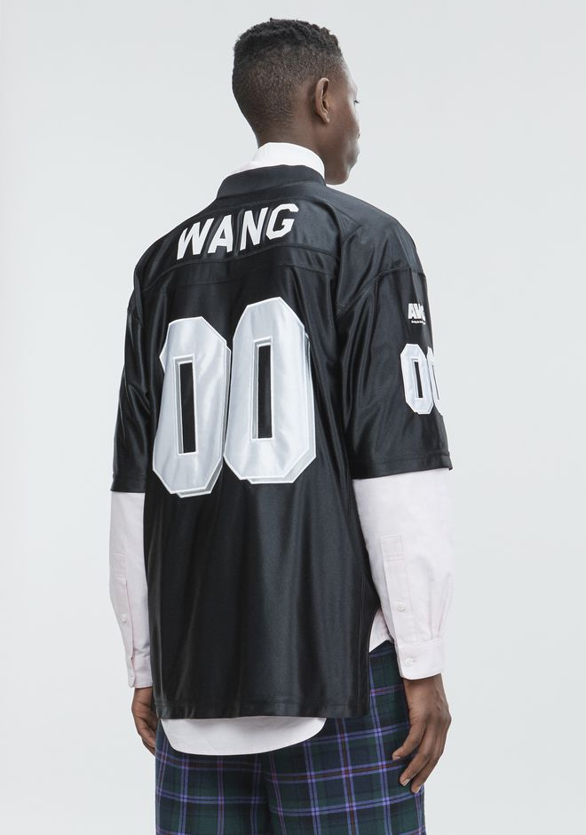 ALEXANDER WANG FOOTBALL JERSEY Short sleeve t-shirt Adult 12_n_d