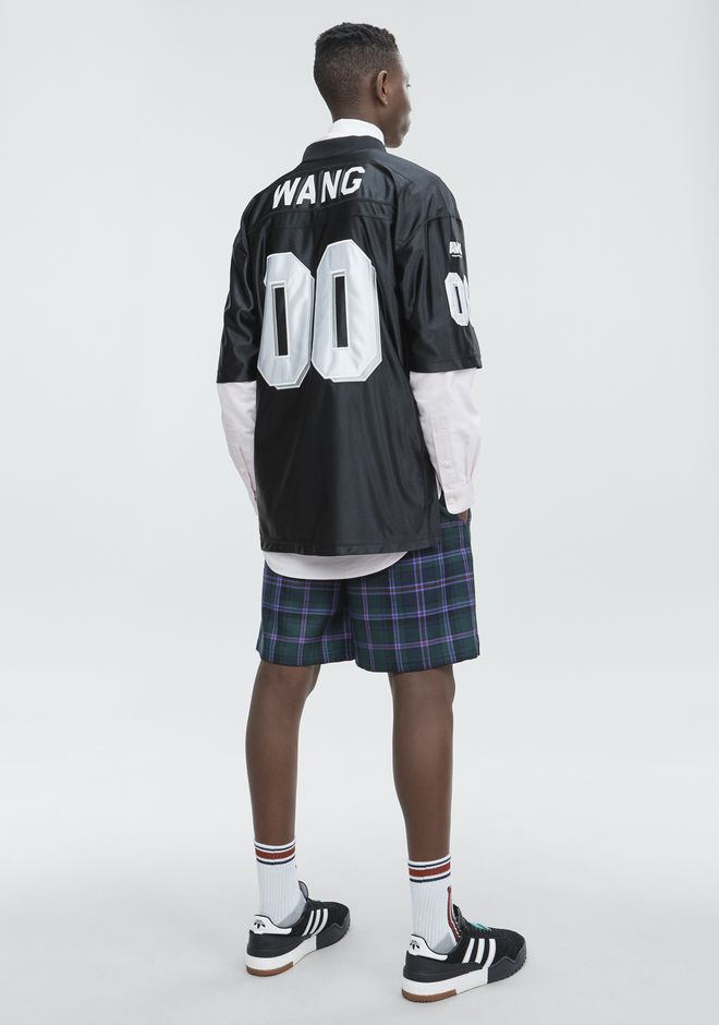 ALEXANDER WANG FOOTBALL JERSEY Short sleeve t-shirt Adult 12_n_f