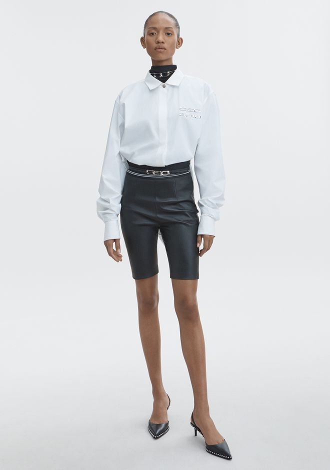 ALEXANDER WANG CEO BUTTON DOWN TOP Adult 12_n_f