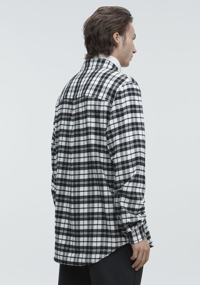 ALEXANDER WANG PLAYER ID FLANNEL トップス Adult 12_n_d
