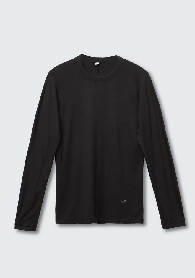 Men Heattech Extra Warm Long Sleeve T Shirt by Alexander Wang