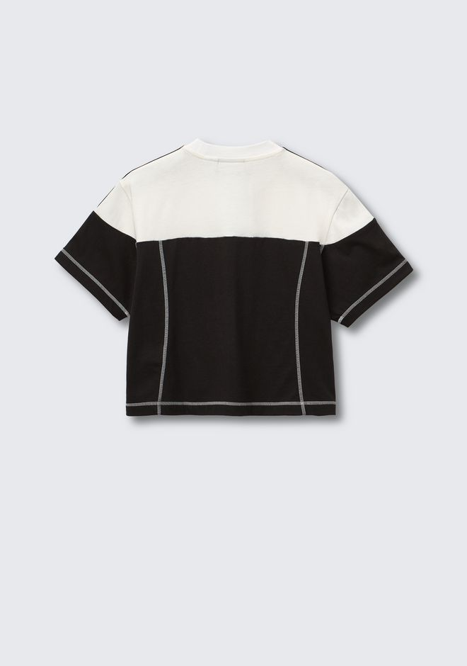 ALEXANDER WANG ADIDAS ORIGINALS BY AW DISJOIN CROP TOP TOP Adult 12_n_d