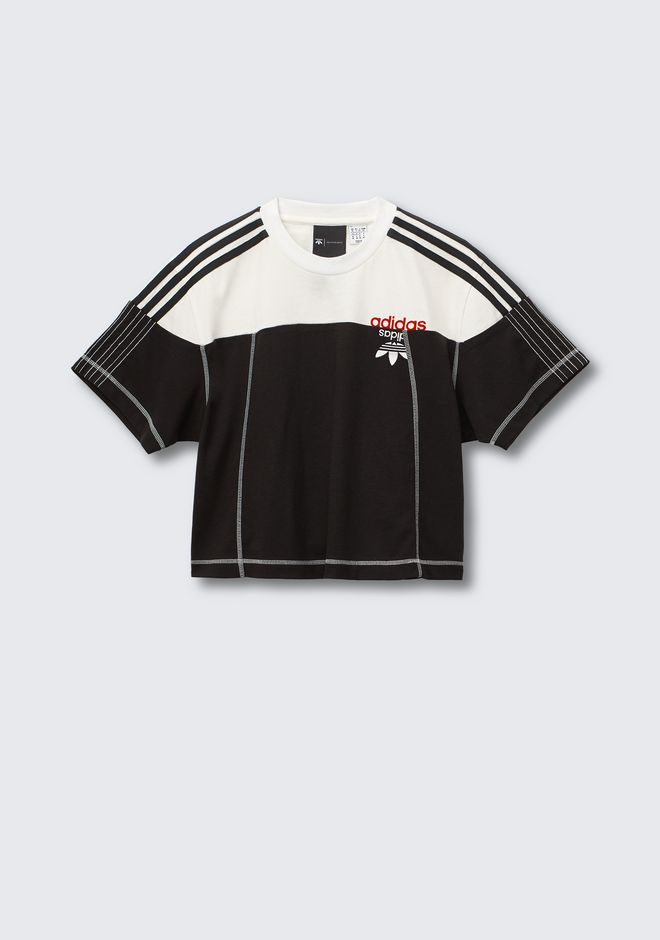 ALEXANDER WANG ADIDAS ORIGINALS BY AW DISJOIN CROP TOP TOP Adult 12_n_e