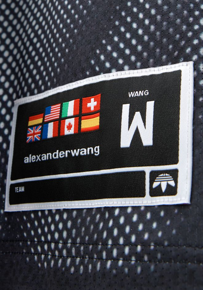 ALEXANDER WANG ADIDAS ORIGINALS BY AW PHOTOCOPY TEE TOP Adult 12_n_r