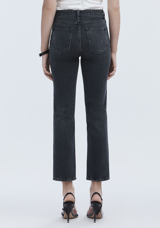 ALEXANDER WANG CULT STRAIGHT LEG JEAN DENIM Adult 12_n_d