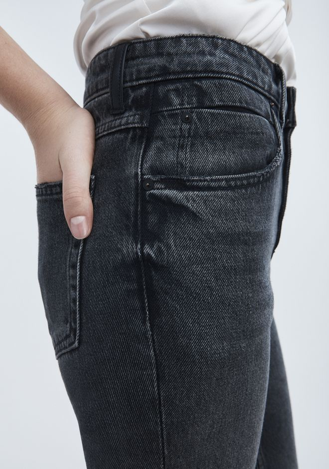 ALEXANDER WANG CULT STRAIGHT LEG JEAN DENIM Adult 12_n_r