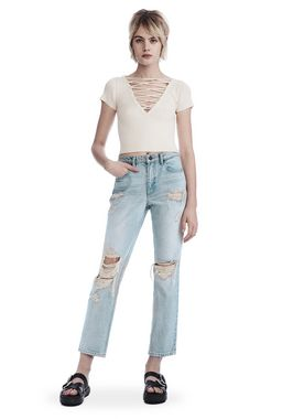 DESTROYED CULT STRAIGHT LEG JEAN