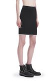 T by ALEXANDER WANG KNIT PENCIL SKIRT WITH TIPPING 半裙 Adult 8_n_e