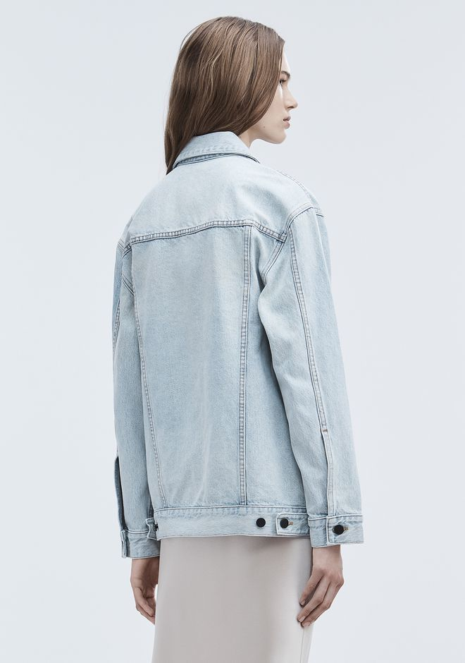 ALEXANDER WANG DAZE OVERSIZED DENIM JACKET デニム Adult 12_n_e