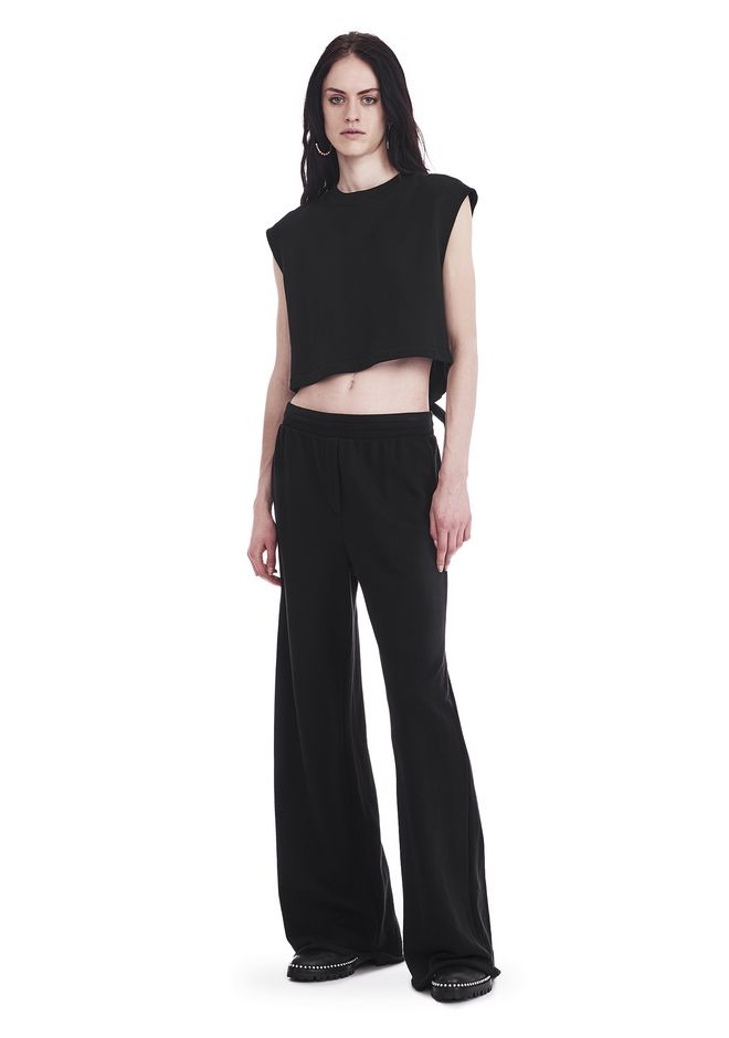 T by ALEXANDER WANG new-arrivals-women WIDE LEG SWEATPANTS