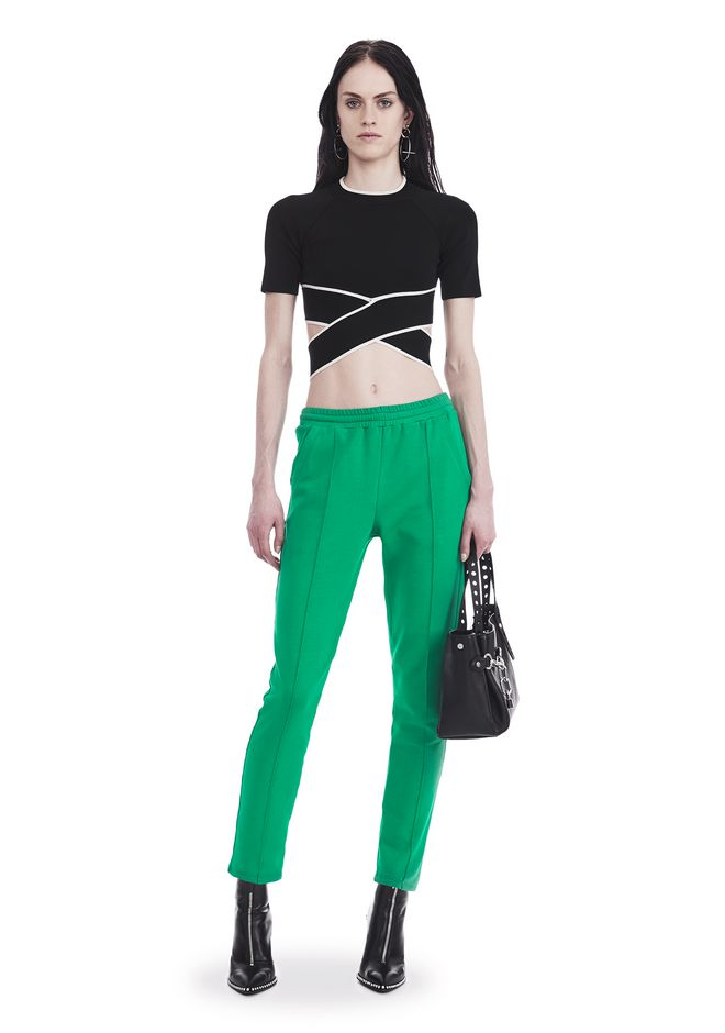 T by ALEXANDER WANG PANTS Women PULL ON LEGGINGS