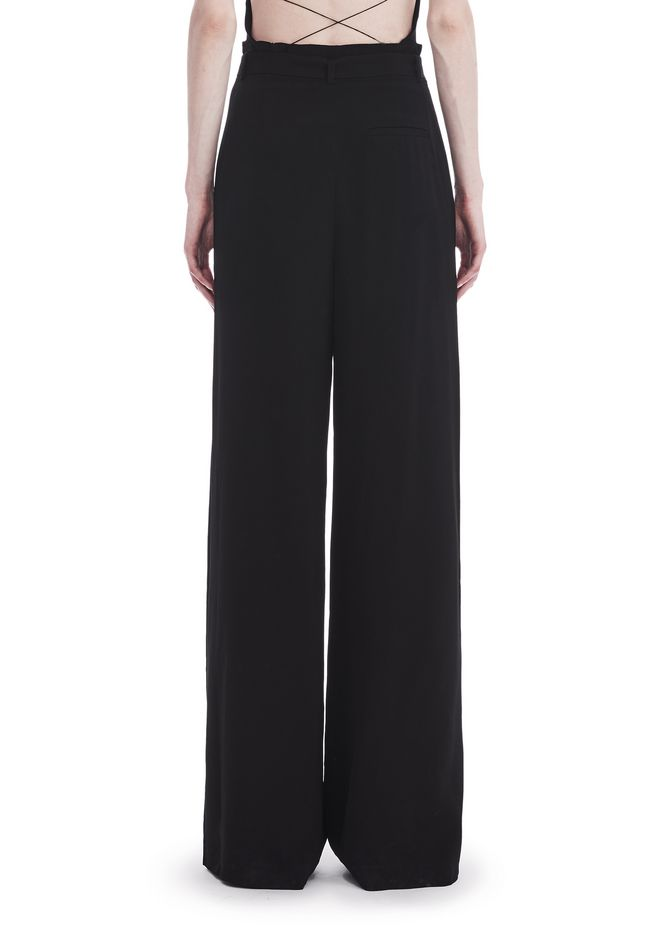 T by ALEXANDER WANG HIGH WAISTED SUIT PANTS WITH BELT 裤装 Adult 12_n_a