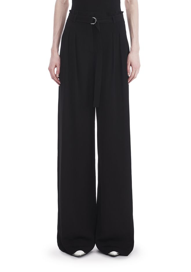 T by ALEXANDER WANG HIGH WAISTED SUIT PANTS WITH BELT 裤装 Adult 12_n_d