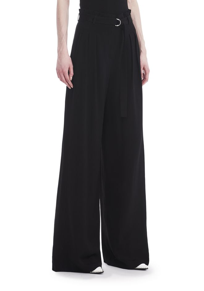 T by ALEXANDER WANG HIGH WAISTED SUIT PANTS WITH BELT 裤装 Adult 12_n_e