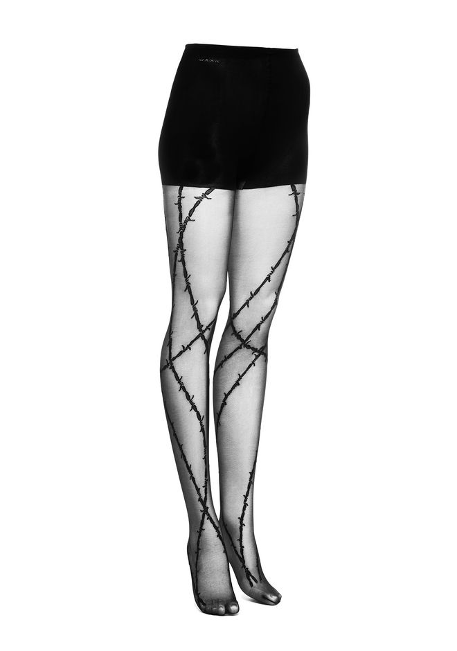 ALEXANDER WANG BARBED WIRE TIGHTS PANTS Adult 12_n_e