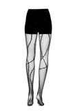 ALEXANDER WANG BARBED WIRE TIGHTS PANTS Adult 8_n_d