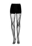 ALEXANDER WANG BARBED WIRE TIGHTS PANTS Adult 8_n_f
