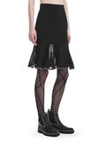 ALEXANDER WANG KNEE LENGTH SKIRT WITH RUFFLED BALL CHAIN HEM SKIRT Adult 8_n_e