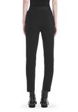 ALEXANDER WANG SLIM FIT TROUSERS WITH BALL CHAIN TRIM PANTS Adult 8_n_a